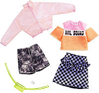 Одежда и аксессуары для куклы Барби 2 наряда - Barbie Fashion GHX58