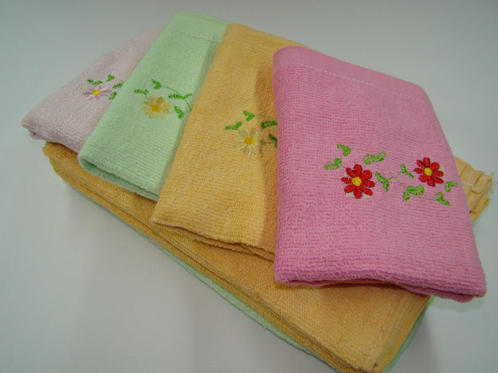 Кухонний рушник махровий (30х70 см) код 0052