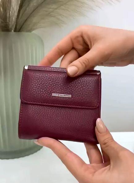Женский кожаный кошелек magicbag