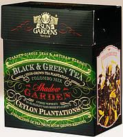 """Чай смесь черного и зеленого с кардомоном и цветами Colombo высший сорт  """"PEKOE"""" 100гр"""