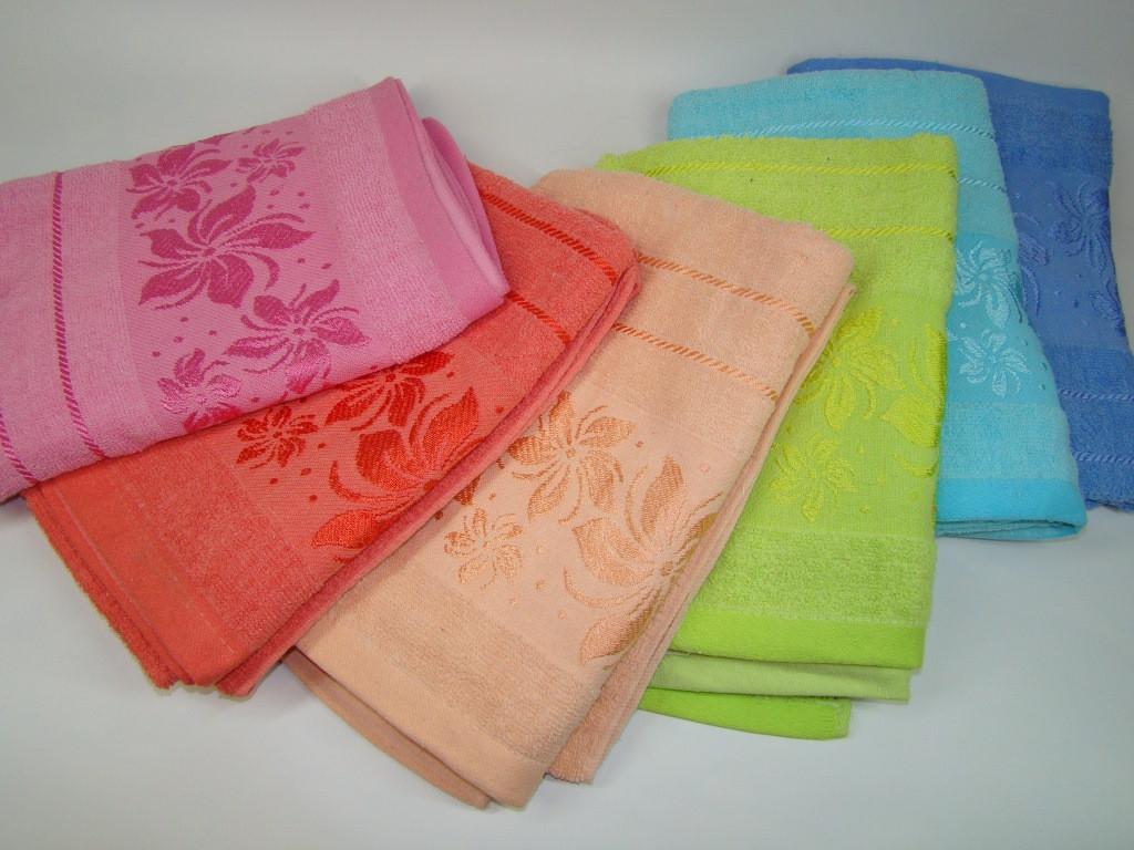 Банное полотенце махровое (70х130 см) код 0111