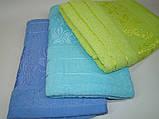Банное полотенце махровое (70х130 см) код 0111, фото 3