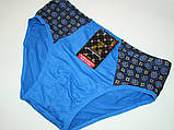 Трусы-плавки подростковые (2XL) хлопок код 4076, фото 5