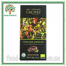 Шоколад Cachet Bio organic Extra dark Tanzania 85% какао 100г