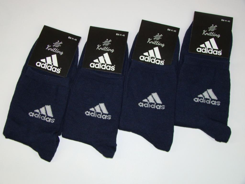 Носки мужские Adidas стрейч (41-45р) код 13039
