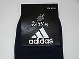 Носки мужские Adidas стрейч (41-45р) код 13039, фото 5