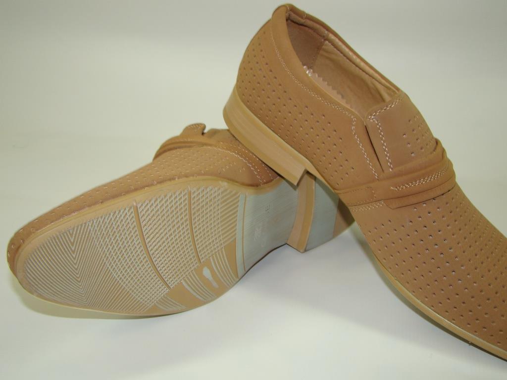 Туфлі чоловічі PTPT 5A810 (39-44р) код 8018