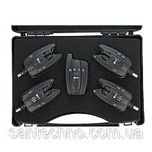 Набор сигнализаторов поклевки с пейджером GC SN-45*4