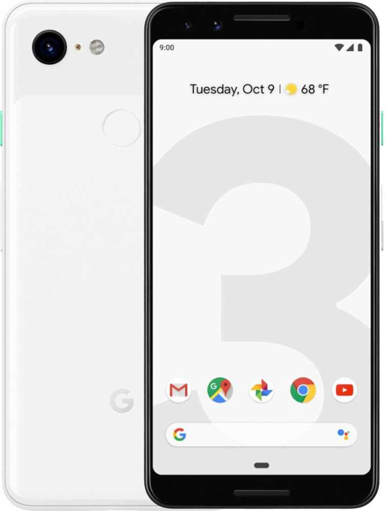 Смартфон Google Pixel 3 64GB Black/White SlimBox Refurbished