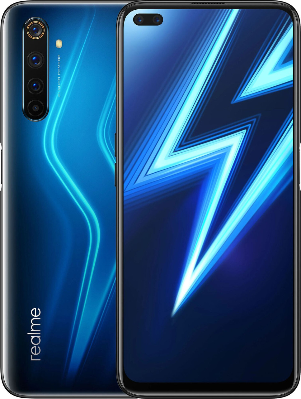 Смартфон Realme 6 Pro 8/128GB Lightning blue