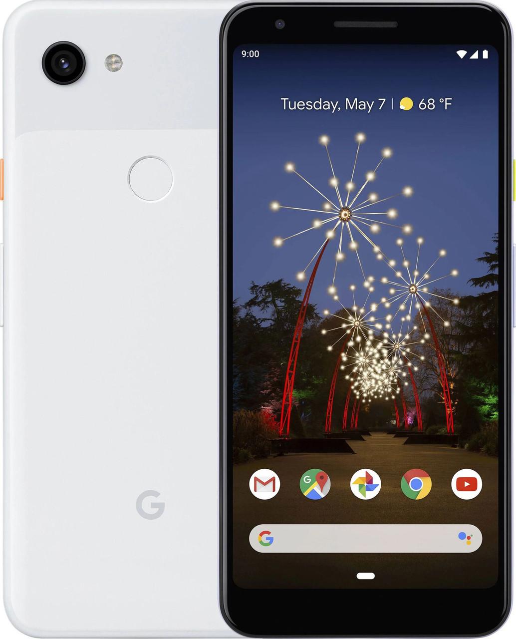Смартфон Google Pixel 3A XL 64GB Clearly White CRB Slim Box Refurbished