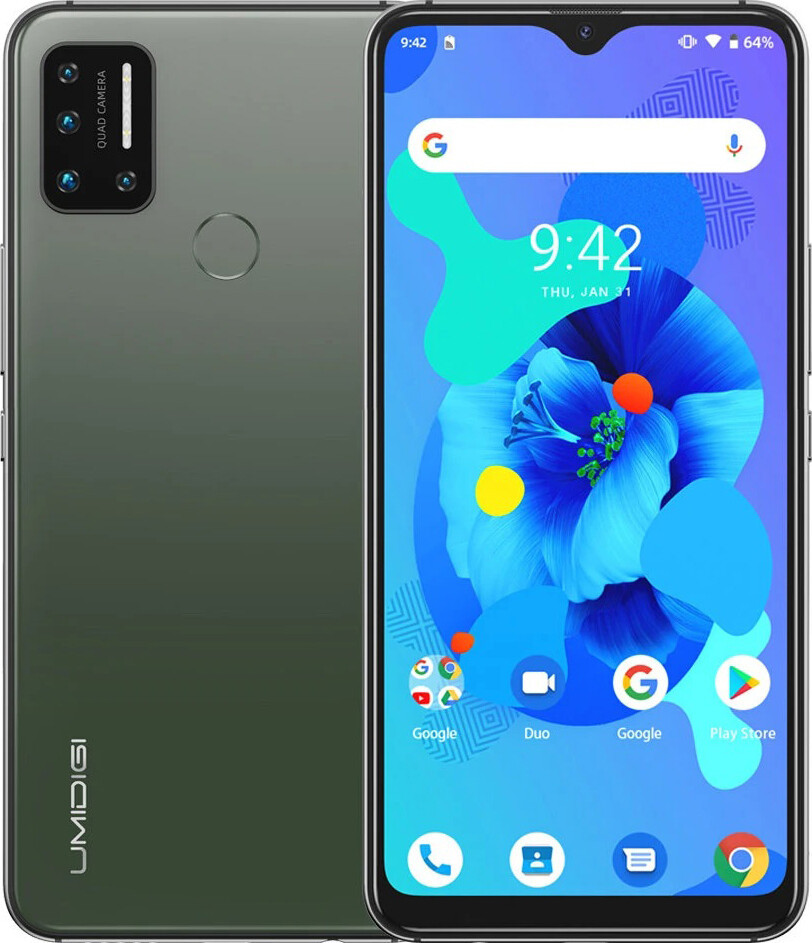 Смартфон UMIDIGI A7 4/64Gb Green (Global)