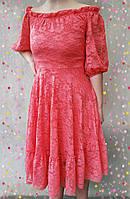 Красивое гипюровое платье,ЧИТАЙТЕ ПОЖАЛУЙСТА ОПИСАНИЕ ТОВАРА!