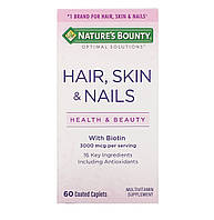 Nature's Bounty, Волосы, кожа и ногти, 60 капсул, фото 1