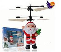 Игрушка Летающий Санта Flying Santa, летающий дед мороз