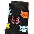 Носки женские с принтом 🐈 Rock n socks размер 36-40, фото 3