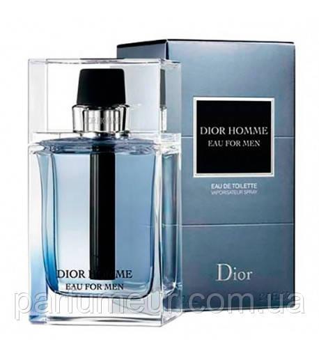 Dior Homme eau for Men Dior eau de toilette 100ml