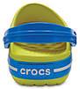 Детские кроксы Crocs Crocband Kids салатовые С7 / 14,0 – 14,5 см, фото 5