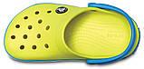 Детские кроксы Crocs Crocband Kids салатовые С12/ 18,3 – 18,7 см, фото 3
