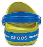 Детские кроксы Crocs Crocband Kids салатовые С12/ 18,3 – 18,7 см, фото 5