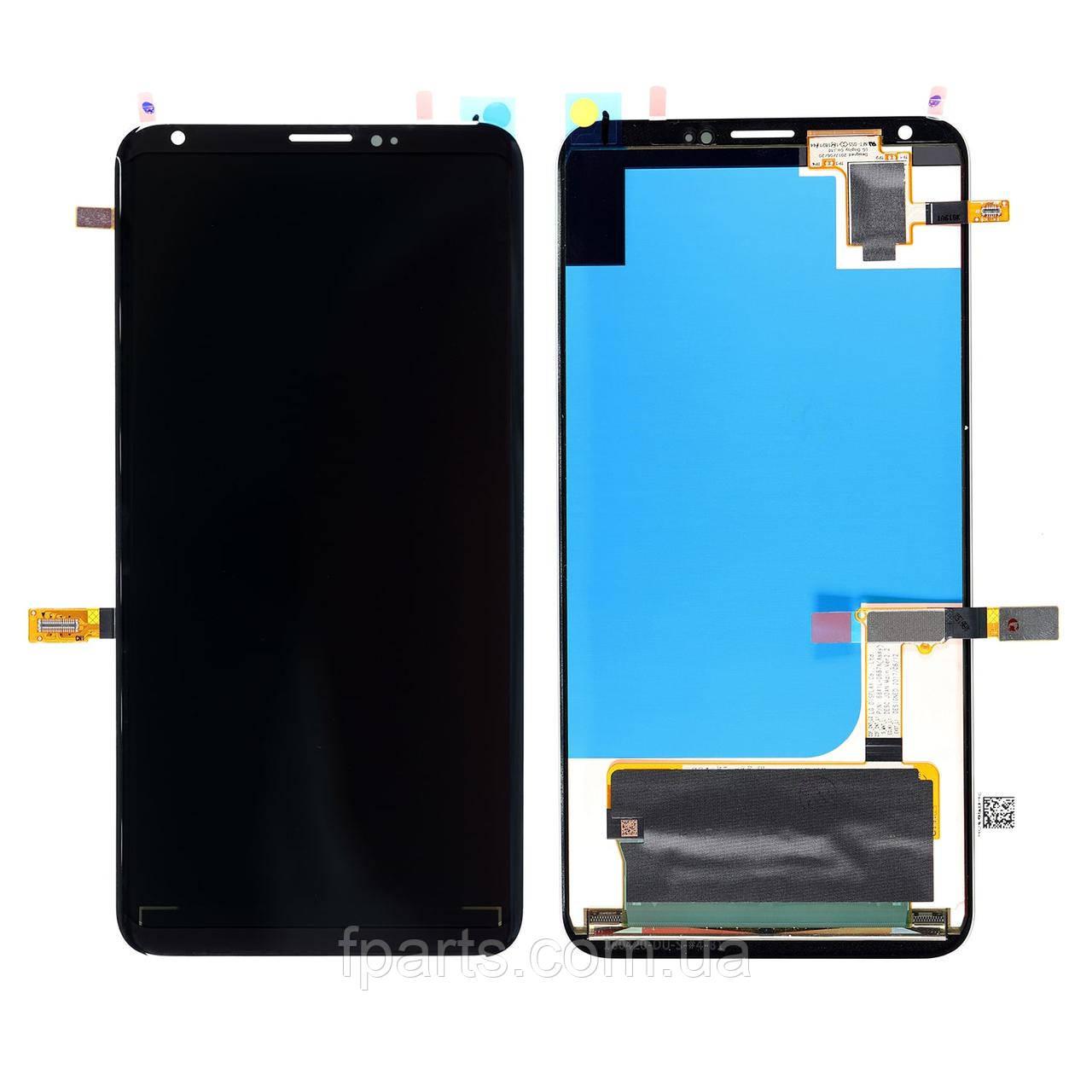 Дисплей для LG V30, V30+ (H930, H930DS, VS996, LS998U, US998) с тачскрином, Black (Original PRC)