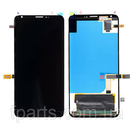 Дисплей для LG V30, V30+ (H930, H930DS, VS996, LS998U, US998) с тачскрином, Black (Original PRC), фото 2