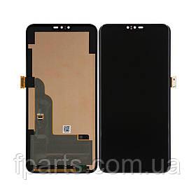 Дисплей для LG V40 ThinQ (V405, V405EB, V405UA) с тачскрином, Black (Original PRC)