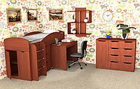 Детская мебель для спальни Компанит №4 дсп яблоня