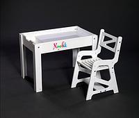 Детский световой столик-песочница Noofik в комплекте со стульчиком