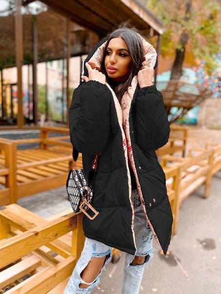 Женская куртка двухсторонняя куртка-зефирка Success