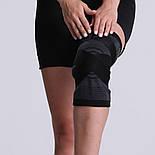 Трикотажный бандаж коленного сустава с дополнительной фиксацией, фото 9
