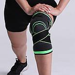 Трикотажный бандаж коленного сустава с дополнительной фиксацией, фото 6