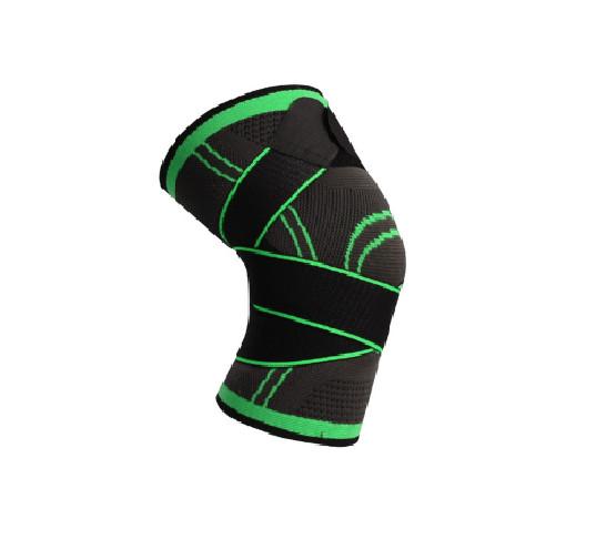 Трикотажный бандаж коленного сустава с дополнительной фиксацией