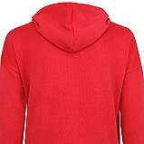 Худи женская с капюшоном красная сердце р.M-XL, фото 3