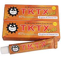 Крем анестетик для шкіри TKTX Gold 40% 10гр.