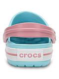 Кроксы детские Crocs Crocband Kids голубые С10/ 17,0 – 17,5 см, фото 4