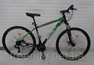 Гірський Велосипед Azimut Aqua 29 GD (19) чорно-зелений