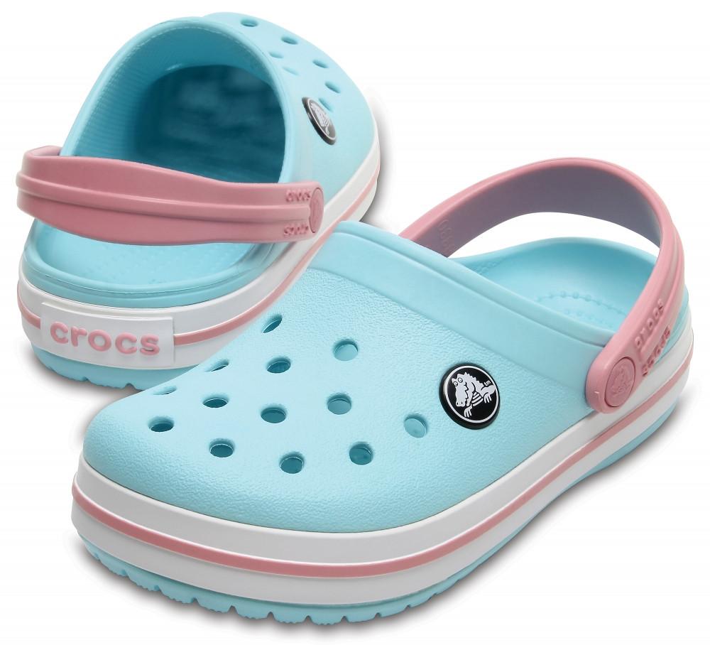 Кроксы детские Crocs Crocband Kids голубые С12/ 18,3 – 18,7 см