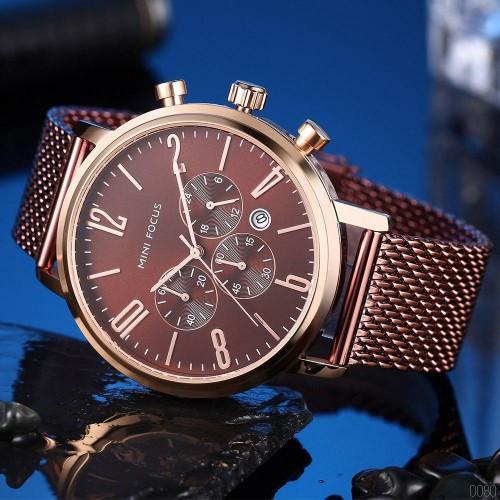 Часы наручные мужские Mini Focus MF0183G Brown