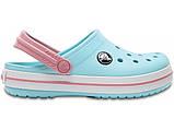 Кроксы детские Crocs Crocband Kids голубые J3/ 22,0 – 22,5 см, фото 3