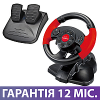 Игровой Руль и Педали для ПК Esperanza EG103, приставка-руль с педалями для компьютера и ноутбука