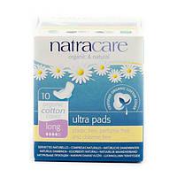 Прокладки Довгі гігієнічні з органічної бавовни Ultra Pads Long Natracare 10 шт