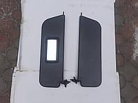Козирок сонцезахисний ВАЗ 2101-2107 жестий чорний завод Росія, фото 1