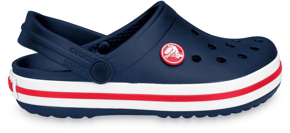 Детские кроксы Crocs Crocband Kids синие J2/ 21.0 – 21.5 cм