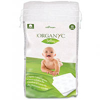 Детские органические хлопковые подушечки 60 шт Organyc