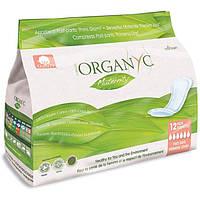 Прокладки післяродові органічні в індивідуальній упаковці 12 шт Organyc