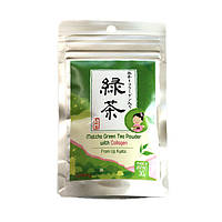 Чай Удзи маття Ujicha Yanoen с морским коллагеном 30 г