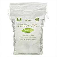 Шарики из органического хлопка 100 шт Organyc
