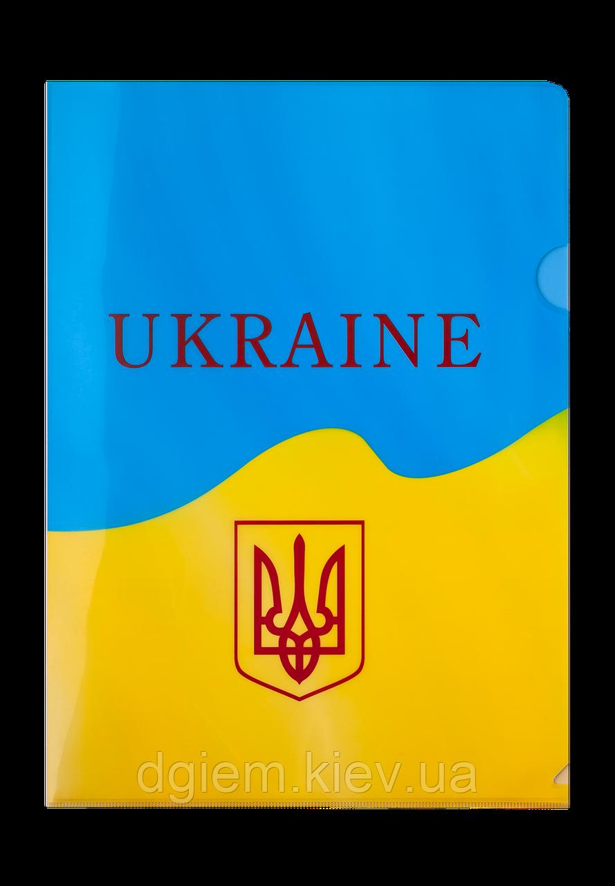Папка-уголок А4 UKRAINE BUROMAX