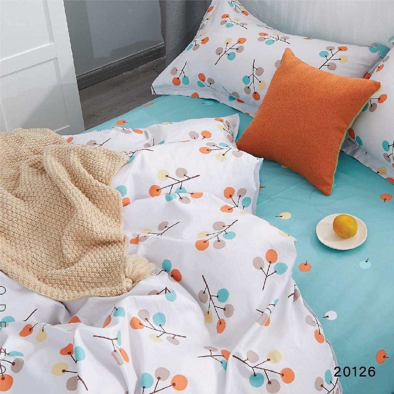 Комплект постельного белья ранфорс 20126 ТМ Вилюта